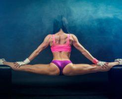 筋肉質の足イメージ