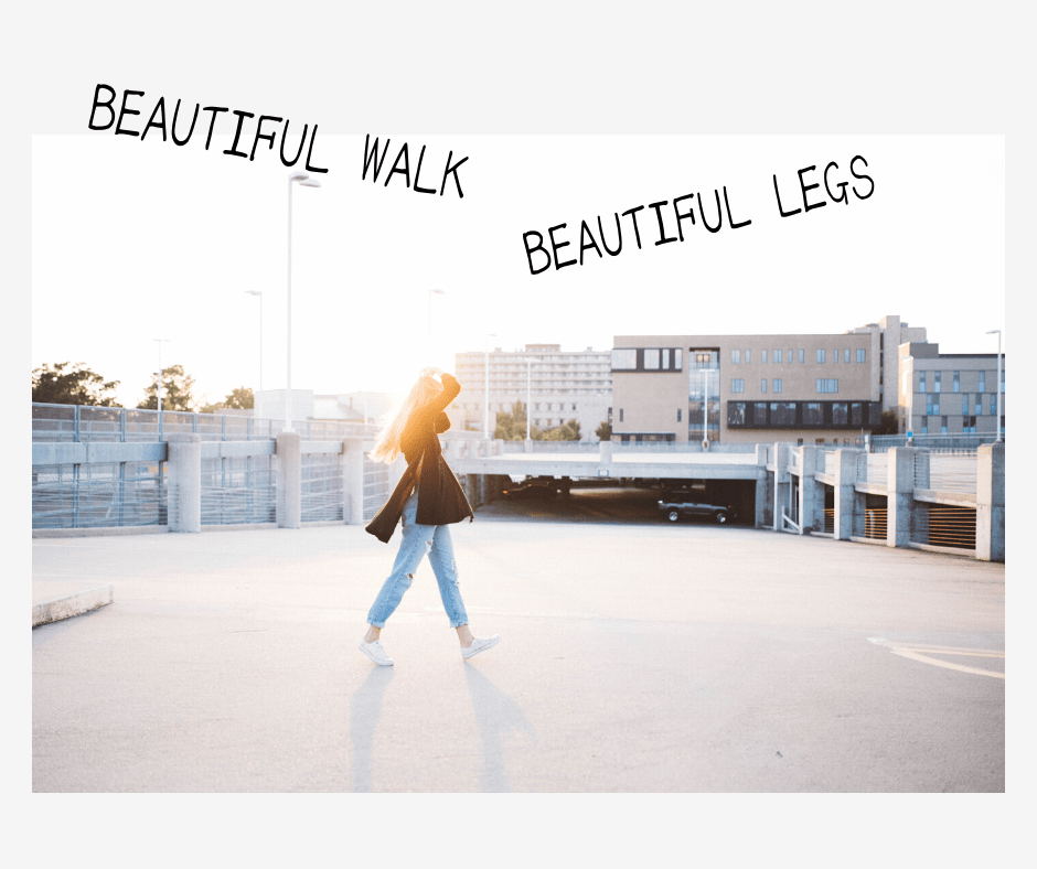 立ち方歩き方で美脚に